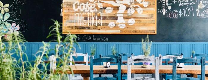 Café Matilda is one of Lugares favoritos de Ferchie.
