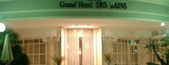 Grand Hotel Des Bains is one of Riccione.