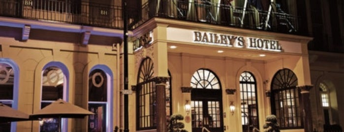 The Bailey's Hotel London is one of Tempat yang Disukai Louise.