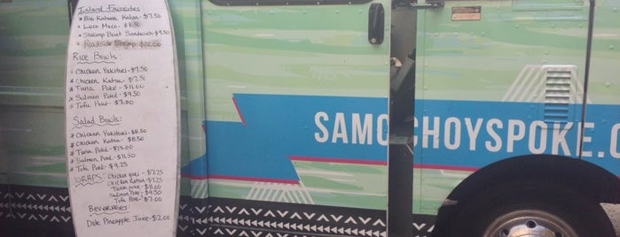 Sam Choy's Poke to the Max is one of Amazon Campus (SLU) Lunch Spots.