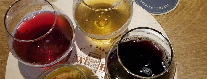 Wild Barrel Brewing is one of California Breweries 5.