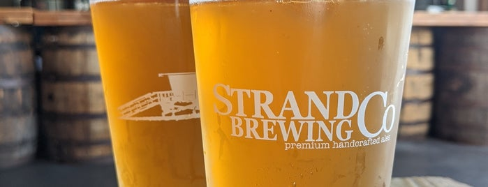 Strand Brewing is one of Los Angeles.