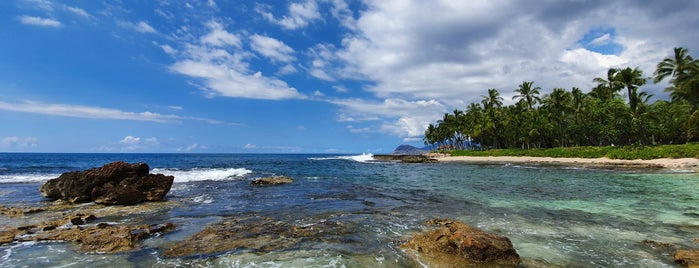Secret Lagoon is one of To-Do list in Oahu.