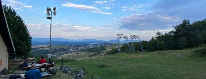 Hrešná (597 m n. m.) is one of Turistické chaty SK, CZ, PL.