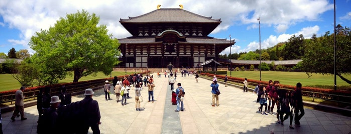 Todai-ji Temple is one of Orte, die Esra gefallen.