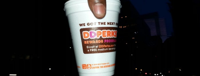 Dunkin' is one of NYC TriBeCa.
