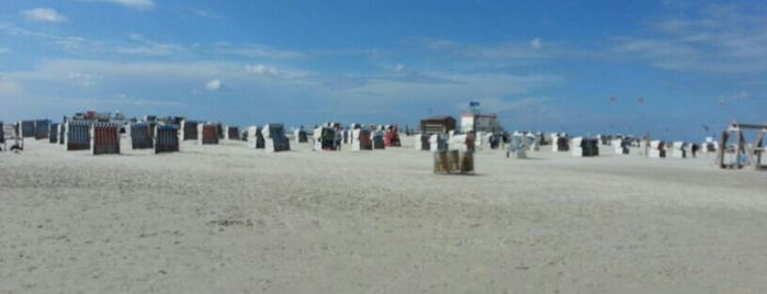 St. Peter-Ording Strand is one of Marc : понравившиеся места.