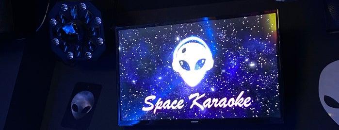 Space Karaoke is one of Locais curtidos por C.