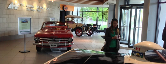 Automotive Hall Of Fame is one of michigan.