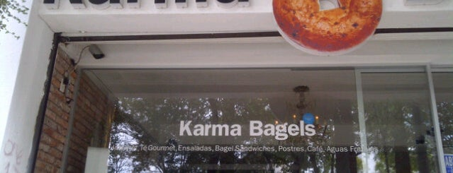 Karma Bagels is one of Top Restaurants.