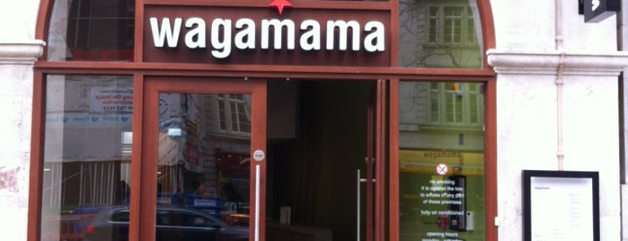 wagamama is one of London life.
