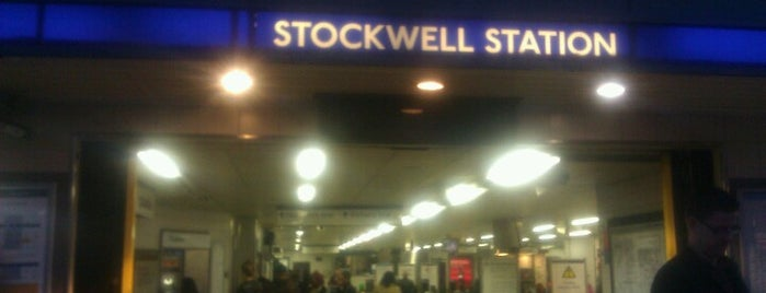 Stockwell London Underground Station is one of Tempat yang Disukai Barry.