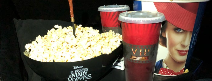 SUPERCINES VIP is one of Lugares favoritos de lupas.