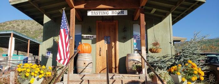 Javelina Leap Vineyard & Winery is one of สถานที่ที่ Erik ถูกใจ.