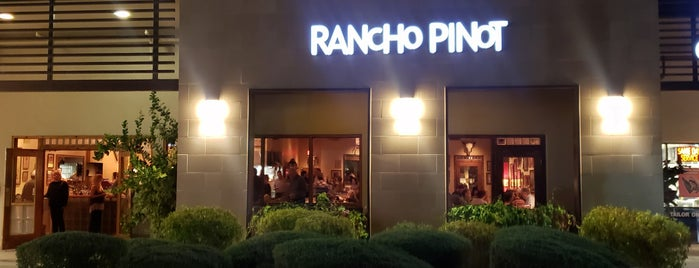 Rancho Pinot is one of Wishlist: Dining.