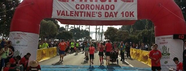 Coronado Valentine's Day 10K is one of Locais curtidos por Jennifer.