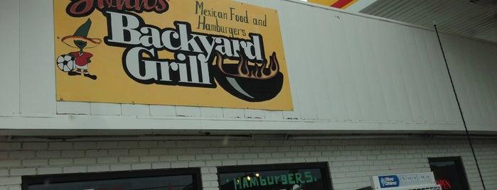 John's Backyard is one of meat + buns..