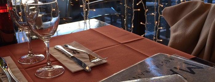 Mango: restaurant i copes is one of De birras.