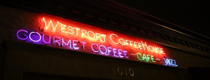 Westport Coffee House is one of Caffeinated KC: the best cups of coffee in town.