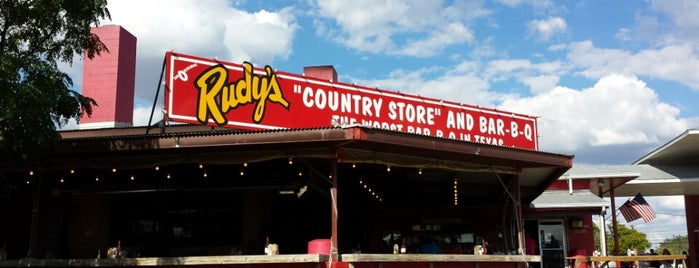 Rudy's Country Store And Bar-B-Q is one of San Antonio.