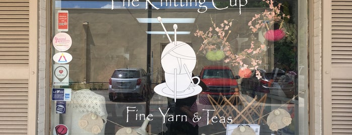 The Knitting Cup is one of one of these days: yarn.