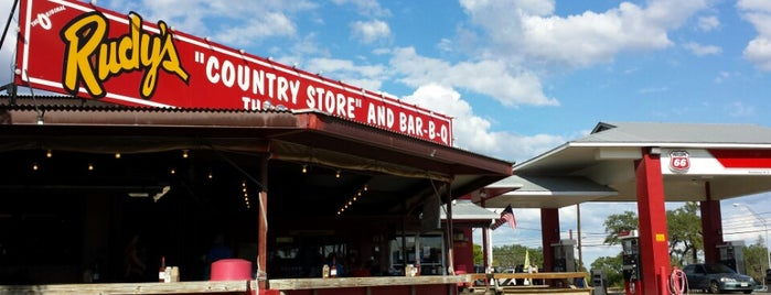 Rudy's Country Store And Bar-B-Q is one of San Antonio, Tx.