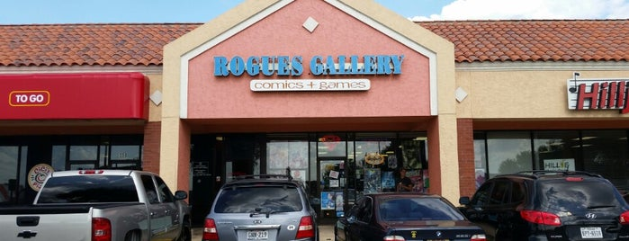 Rogues Gallery Comics and Games is one of Know-it-All Round Rock.