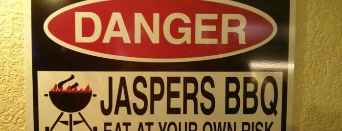 Jaspers Smokehouse and Steaks is one of Big Bear Lake (Anti-Zombie Survival).