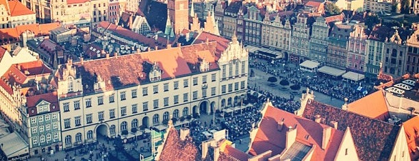 Rynek is one of Breslau.
