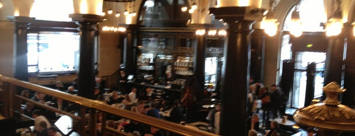 The Wolseley is one of London's great locations - Peter's Fav's.