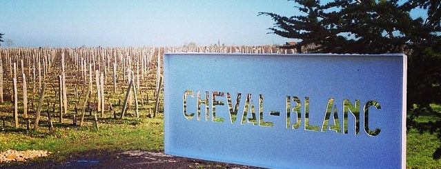 Château Cheval Blanc is one of Vin.