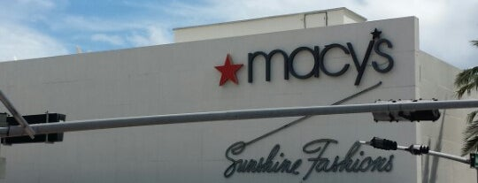 Macy's is one of South Beach Miami.