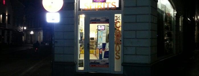Nightshop is one of Bruges beer stores.