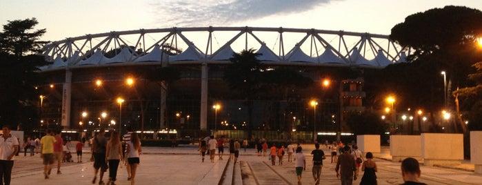 Stadio Olimpico is one of Top Olympic Stadiums.