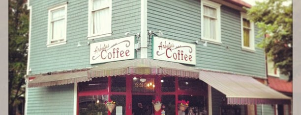 Arbutus Coffee is one of Cafes in Vancouver.