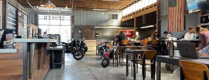Spoken Moto is one of Bend, Oregon.