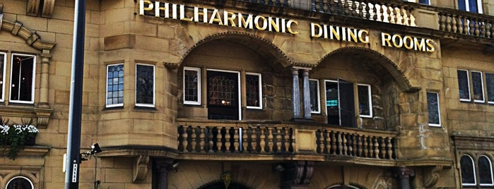 Philharmonic Dining Rooms is one of UK pubs.