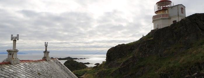 Litløy Fyr Littleisland Lighthouse is one of Favoriete hotels.