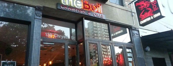 The Boil is one of East village restaurants.