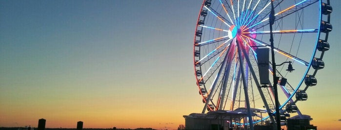 The Capital Wheel at the National Harbor is one of D.C..