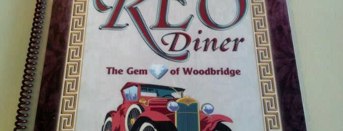 The Reo Diner is one of Locais curtidos por Melissa.
