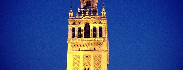 La Giralda is one of Sevilla.