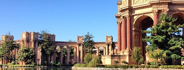 Palace of Fine Arts is one of San Fran.