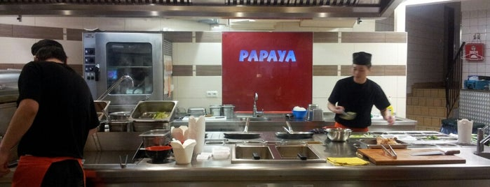 Papaya is one of Essen gehen.