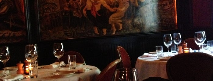The Waverly Inn is one of NYC dinner.