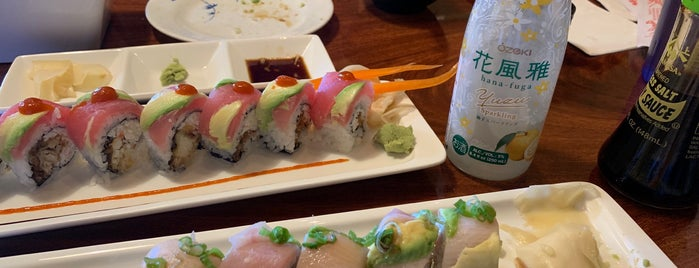 Happy Sushi is one of N.L and M.C.'s Best of the Best.