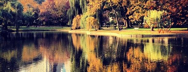 Boston Public Garden is one of Beantown.