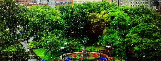 Union Square Park is one of NY.