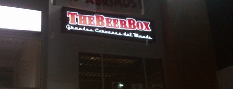 The BeerBox is one of Mis nuevos lugares a conocer.