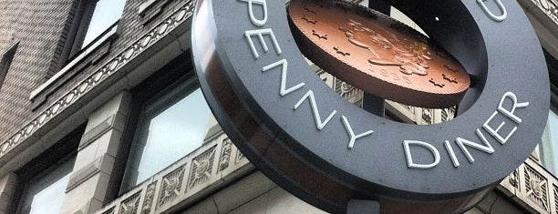 Portland Penny Diner is one of Portland Signs.